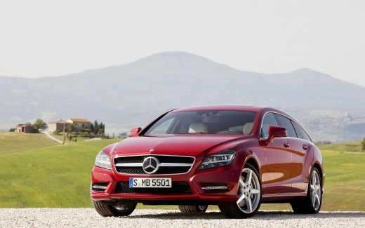 Mercedes Benz CLS Shooting Brake 2012
