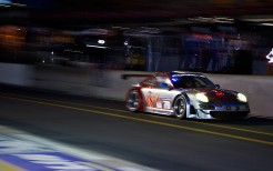Porsche Night Racing Car