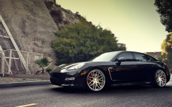 Porsche Panamera Turbo S on ADV1