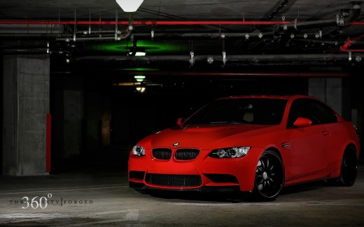 Red BMW M3