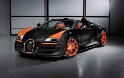 2013 Bugatti Veyron 16 4 Grand Sport Vitesse World Speed Record