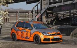 2014 Cam Shaft Haiopai Racing Volkswagen Golfs Orange