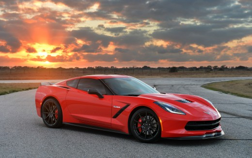 2014 Chevrolet Corvette Stingray HPE700 Twin Turbo By Hennessey