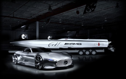 2014 Cigarette Racing Vision GT Mercedes Benz
