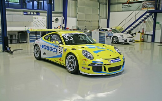 2014 Molitor Racing Systems Porsche 911 GT3 Cup