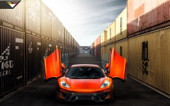 Volcano Orange McLaren 12C MP4 VX by Vorsteiner