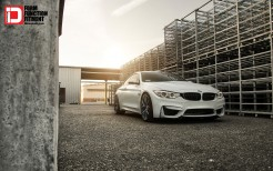 2015 Klassen BMW M4 Midnight Frost M52R Wheels
