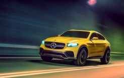 2015 Mercedes Benz GLC Coupe Concept 2