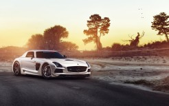 ADV1 RennTech Mercedes SLS Black Series