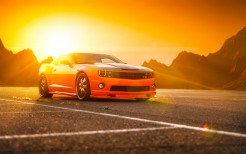 Chevrolet Camaro SS Orange