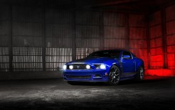 Ford Mustang Blue