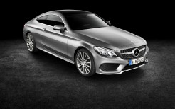 Mercedes Benz C Class Coupe Red 2016
