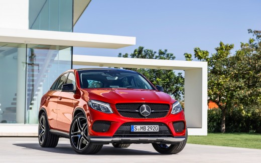 Mercedes Benz GLE Coupe 2015