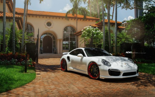 Porsche Turbo S ADV7 Track Spec CS Series