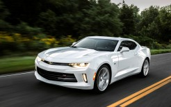 2016 Chevrolet Camaro RS White