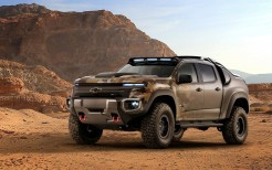 2016 Chevrolet Colorado ZH2 Fuel Cell Army truck