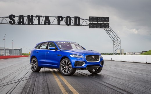 2016 Jaguar F Pace Two Wheeled Run