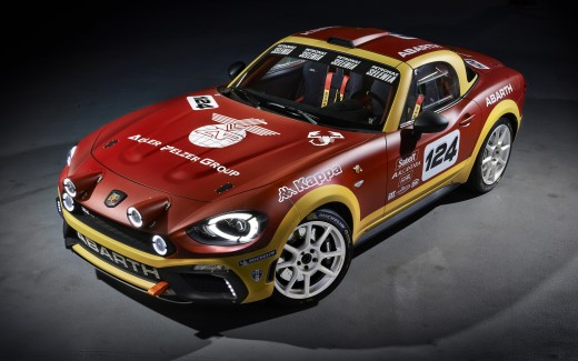 2017 Fiat 124 Spider Abarth Rally Edition
