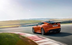 2017 Jaguar F Type SVR Coupe Racetrack