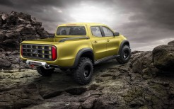 2017 Mercedes Benz Concept X Class Pickup 8K Rear