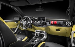 2017 Mercedes Benz Concept X Class Pickup Interior