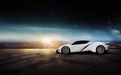 BAIC Arcfox 7 Electric Supercar