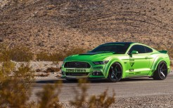 Green Ford Mustang GT Ferrada Wheels 5K