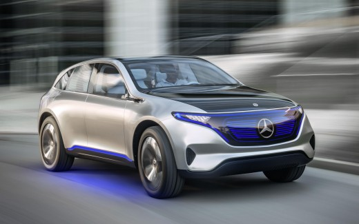 Mercedes Benz EQ Electric SUV 4K