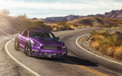 Purple Ford Mustang GT Ferrada Wheels 5K