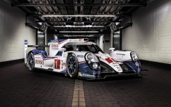 Toyota TS040 Hybrid Racing car