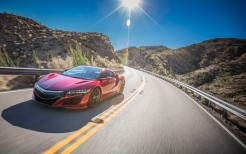2017 Acura NSX Red 4K
