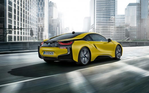 2017 BMW i8 Frozen Yellow Edition 3