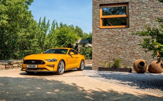 4K Wallpaper Ford Mustang 2017