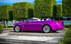 2017 Rolls Royce Dawn In Fuxia 2