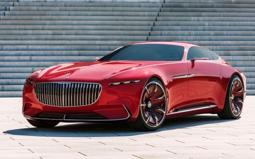2017 Vision Mercedes Maybach 6