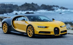 2018 Bugatti Chiron Yellow and Black 4K
