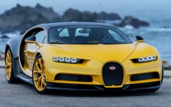 2018 Bugatti Chiron Yellow and Black 4K 2