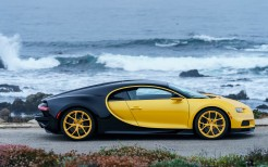 2018 Bugatti Chiron Yellow and Black 4K 3