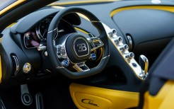 2018 Bugatti Chiron Yellow and Black Interior