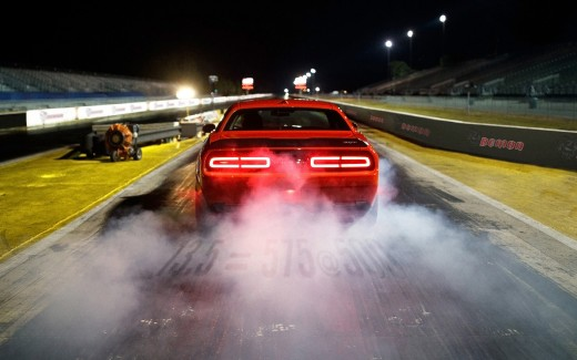 2018 Dodge Challenger SRT Demon on Race track