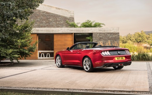 2018 Ford Mustang Convertible 4K 2