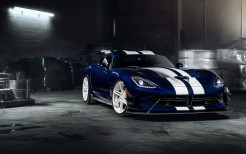 ADV1 Wheels Dodge Viper Blue ACR 5K
