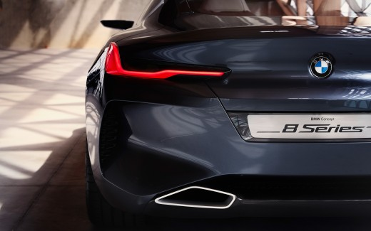 BMW Concept 8 Series Rear