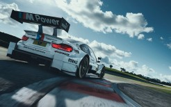BMW M4 DTM Racing track