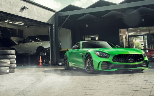 DJ Skees Mercedes AMG GT R ADV1 Wheels