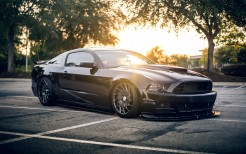 Ford Mustang Shelby Black 4K