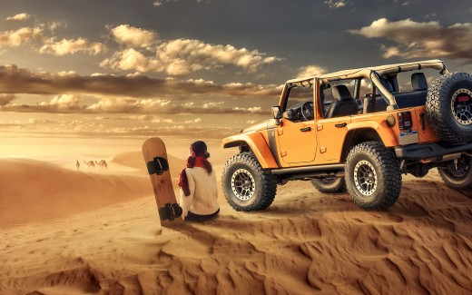 Jeep Wrangler Desert Off road