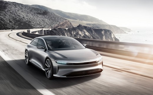 Lucid Air Electric Concept Car 4K