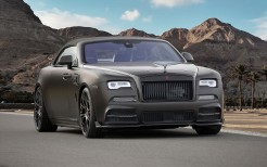 Mansory Rolls Royce Dawn Black Collage Geneva 2017 4K