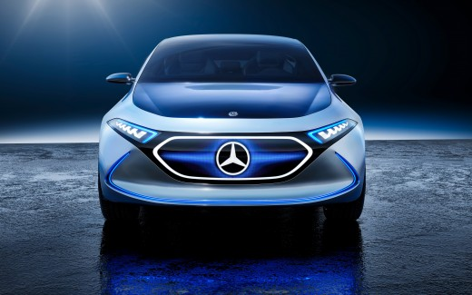 Mercedes Benz Concept EQ 4K 2